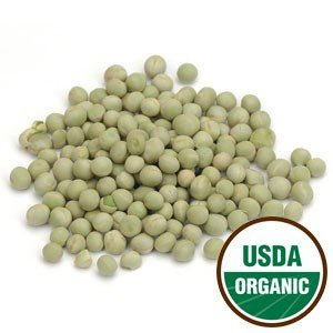 Sweet Green Pea Sprouting Seeds Organic 1 Lb (453 G) - Starwest Botanicals