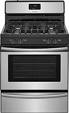 "Frigidaire FFGF3051TS 30"" Gas Freestanding Range with Sealed Burner Cooktop, Broiler, 4.2 cu. ft. Primary Oven Capacity, in Stainless Steel"