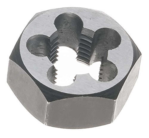 8mm x 1.25 Metric Hex Rethreading Die - Carbon Steel (PACK OF 2)