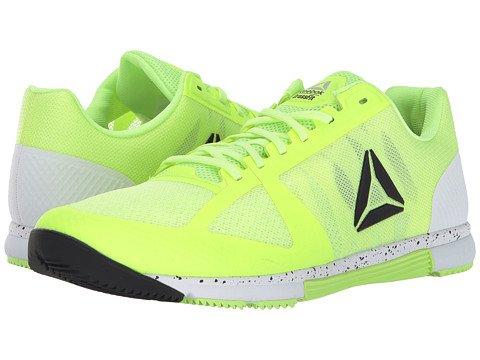 (リーボック) Reebok メンズランニングシューズスニーカー靴 CrossFitR Speed TR 2.0 [並行輸入品] B074RLNMKW 11.5 (29.5cm) D - M Electric Flash/White/Black/Silver