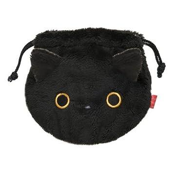 Bolso peluche gato negro Kutusita Nyanko bolsa tela cartera: Amazon.es: Juguetes y juegos