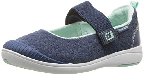 - Stride Rite Girls' Made 2 Play Lia Mary Jane Flat, Navy, 1 M US Little Kid