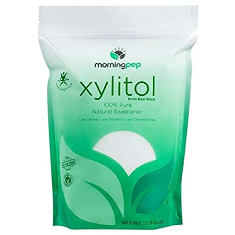 Morning Pep Pure Birch Xylitol (Keto Diet Friendly) Sweetener 5 - Sale: $30.55 USD (24% off)