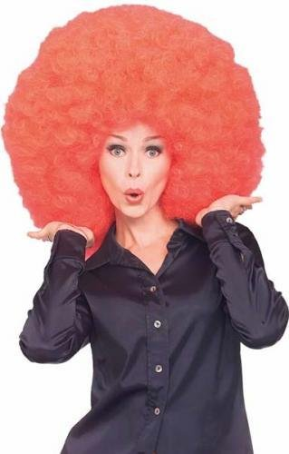 Rubie's Super Size Afro Wig, Red, One -