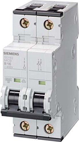 Siemens 5sy5 - Interruptor automático 70 10ka curva-c 2 polos 50a ...