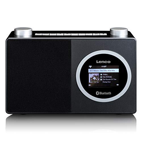 Lenco DIR 70 – draagbare internetradio – DAB+ radio – retro digitale radio – WLAN – Bluetooth – 2,4 inch kleurenscherm…