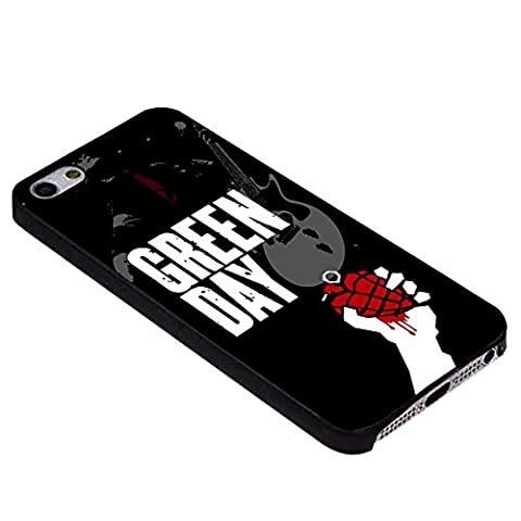 Green Day Poster For iPhone Case (iPhone 6S black) (Beatles Phone Case 5c)