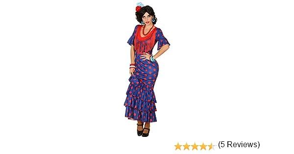 Atosa-38605 Disfraz Flamenca, Color Violeta, XL (38605): Amazon.es ...