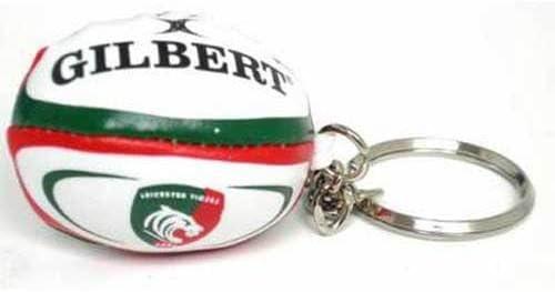 GILBERT leicester tigers pelota rugby llavero: Amazon.es: Juguetes y juegos