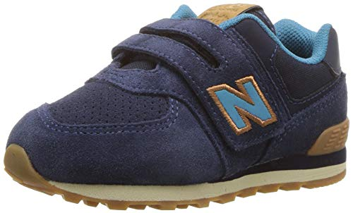 New Balance Kids Iconic 574 Hook and Loop Sneaker
