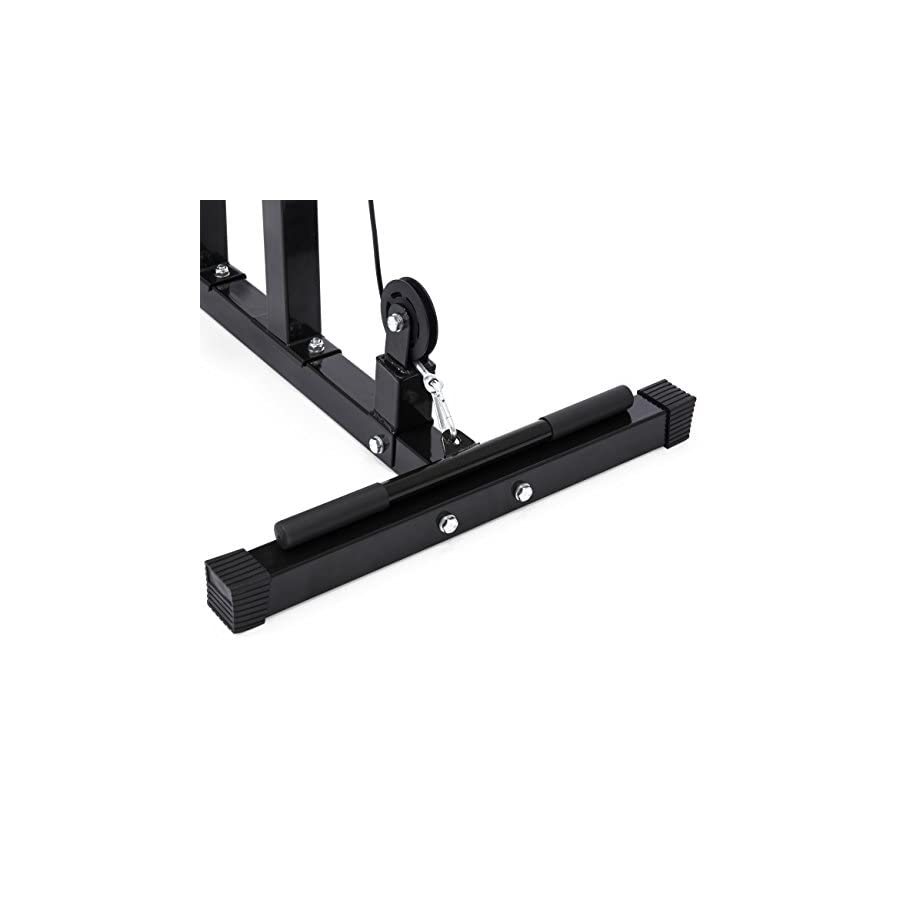 Best Choice Products Low Row Cable LAT Pull Down Machine
