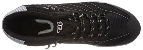 Negro Zapatos Schwarz Hayes Unisex de Grau Senderismo Adulto Mount High Schwarz Bruetting Grau Rise qCT644