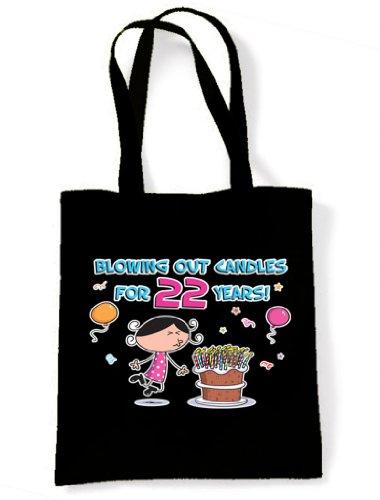 Bandolera De Velas Asas 22 De 22 Soplando Años Las Cumpleaños Negro Número AEw1xSnSvO