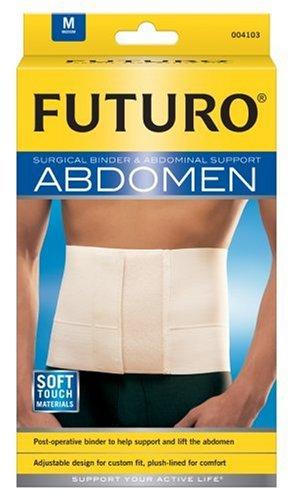 Futuro Surgical Binder & Abdominal Support, Medium (32 to 42-Inch) - Futuro Surgical Binder