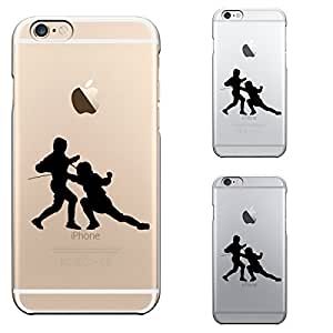 iPhone6 case 4.7 inch Transparent shell Fencing Competition by ruishername