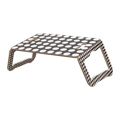Ikea BRADA - Soporte para Ordenador portátil, Negro/Blanco - 42x30 cm: Amazon.es: Hogar