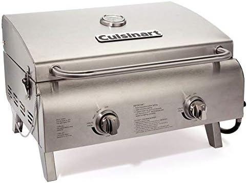 Cuisinart CGG-306 Chefs Style Grill stołowy nierdzewny