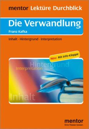 Franz Kafka: Die Verwandlung - Buch mit Info-Klappe