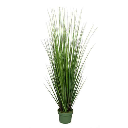 (House of Silk Flowers Artificial 42-inch Green PVC Grass)