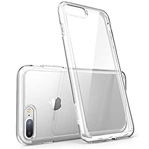 iPhone 7 Plus Case, [Scratch Resistant] i-Blason Clear [Halo Series] for Apple iPhone 7 Plus Cover 2016 Release (Clear)