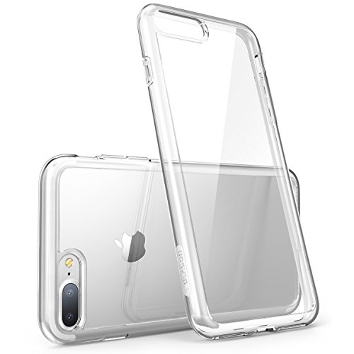 i-Blason Halo Series Case Designed for iPhone 7 Plus/iPhone 8 Plus, [Scratch Resistant] Clear for iPhone 7 Plus/iPhone 8 Plus Cover (Clear)