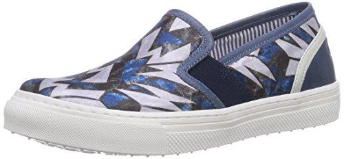 on Basses Walk Bleu Safari Slip Baskets St Blau blu Tela garçon 7FPgPfq