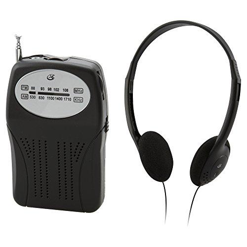 رادیو AM / FM قابل حمل GPX
