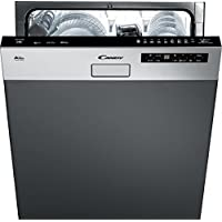 Candy CDS2D35X Semi intégré 13places A++ lave-vaisselle - Lave-vaisselles (Semi intégré, Taille maximum (60 cm), Noir, Acier inoxydable, Condensation, 13 places, 46 dB)