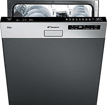 meilleur service 45f1f 777d2 Candy CDS2D35X Semi intégré 13places A++ lave-vaisselle - Lave-vaisselles  (Semi intégré, Taille maximum (60 cm), Noir, Acier inoxydable,  Condensation, ...