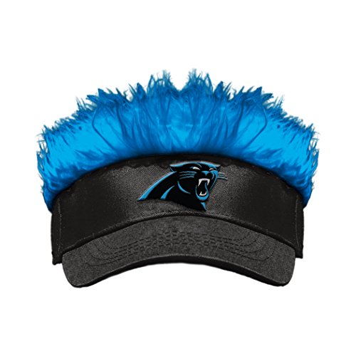 Officially Licensed NFL Carolina Panthers Flair Hair (Flair Nfl Football)
