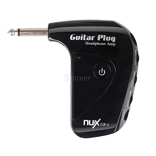 New Guitar & Bass Headphone Amplifier Includes Headphones & Cable by NUX