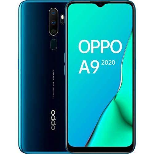 chollos oferta descuentos barato Oppo A9 2020 Smartphone de 6 5 HD 4G Dual Sim 8 Core 128 GB 4 GB RAM 48 8 2 2 MP 16 MP Verde Marino
