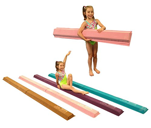 Team Sports Gymnastics 9' Foldable Suede Beams! ()