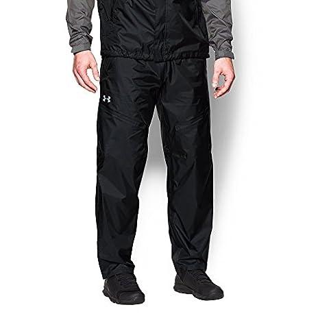 Under Armour Men's Storm Surge Pant, Black/Amalgam Gray, Medium