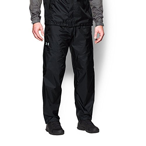 (Under Armour Men's UA Surge Pant, Black (001)/Amalgam Gray, 3X-Large)
