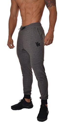 YoungLA French Terry Cotton Sweatpants Jogger Pants Charcoal Medium
