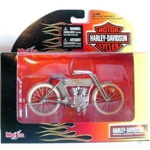 Harley Davidson 1909 Twin 5D V-Twin 1:18 (18 Diecast Harley Davidson Motorcycle)