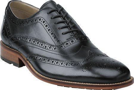 CLARKS Men's Penton Limit,Dark Blue Leather,US 9.5 (Clarks Mens Grip)