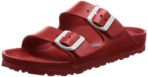 Birkenstock Unisex Arizona Essentials EVA Red Sandals - L5 - Eva Red