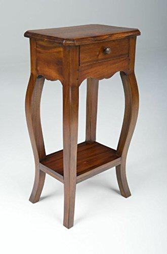 Mahogany Village Small Telephone Table Ancient Mariner