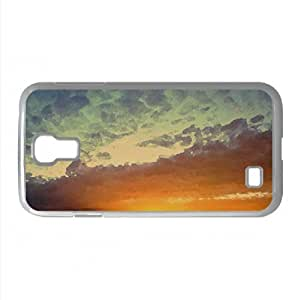Cloudscape 3 Watercolor style Cover Samsung Galaxy S4 I9500 Case (Sun & Sky Watercolor style Cover Samsung Galaxy S4 I9500 Case)