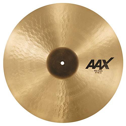 Sabian Crash Cymbal AAX Thin Natural Finish 19