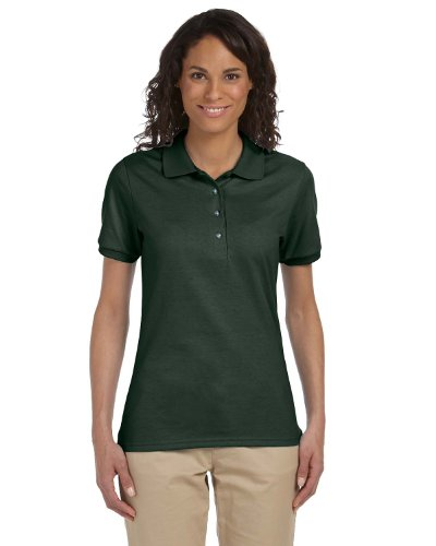 Ladies' Jersey Polo with SpotShield (Green Womens Polos)
