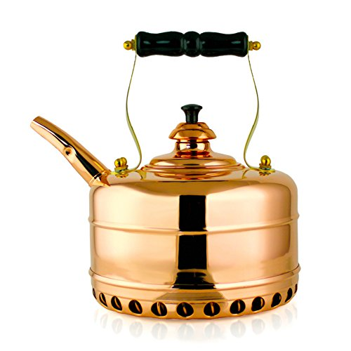 Richmond Heritage No. 3 High Gloss Solid Copper Kettle by Richmond Kettle Company