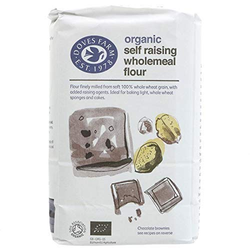 Doves Farm - Organic Self Raising Wholemeal Flour - 1Kg