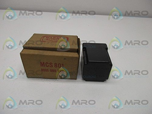 WARNER ELECTRIC MCS-801 POWER SUPPLY *NEW IN A BOX*