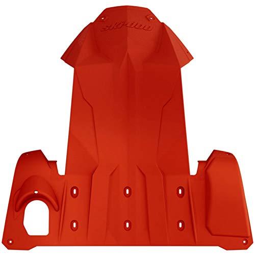 (Ski-Doo New OEM Full Body Skid Plate Chassis Bulkhead Protector REV-XM, XS)
