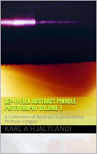 Lep-o-Flex Abstract Pinhole Photography Volume 1: A Collection of Abstract Expressionist Pinhole Images (English Edition)
