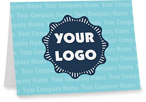 - Logo & Company Name Notecards (Personalized)