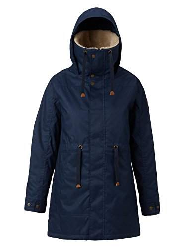 Burton Women's Hazelton Jacket, Mood Indigo Heather, (Burton Womens Snowboard Jackets)
